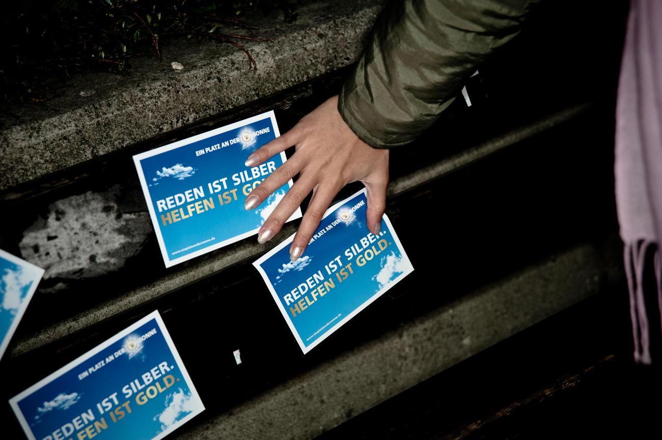Ablösbare Aufkleber-Werbung - Stixx von inovisco