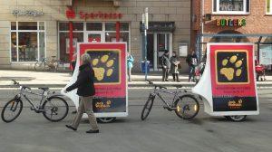 BikeBoards Styles - Werbefahrräder von inovisco