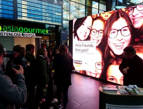 Selfie-Box fürs BMWi: kleines Foto, großer Auftritt