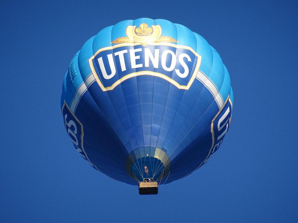 Heißluftballon-Werbung