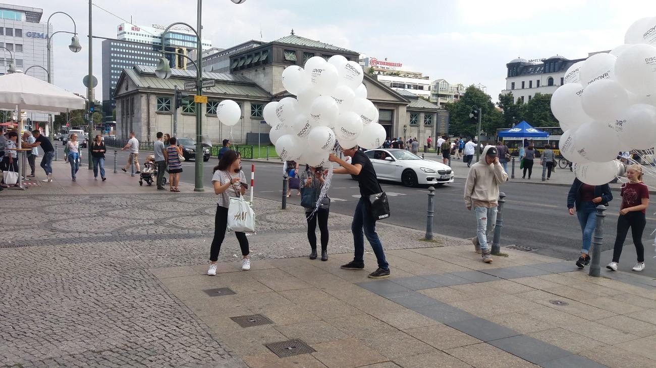 Promotion - Luftballonwerbung