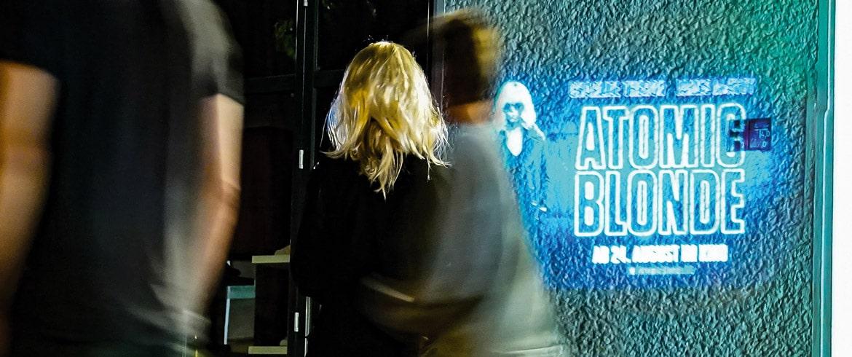 BeamerMan Atomic Blonde