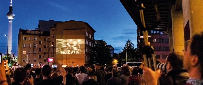 Digitales Riesenposter Rammstein