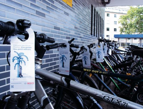 Guerilla-Marketing: Ideen für Fahrrad-Werbung