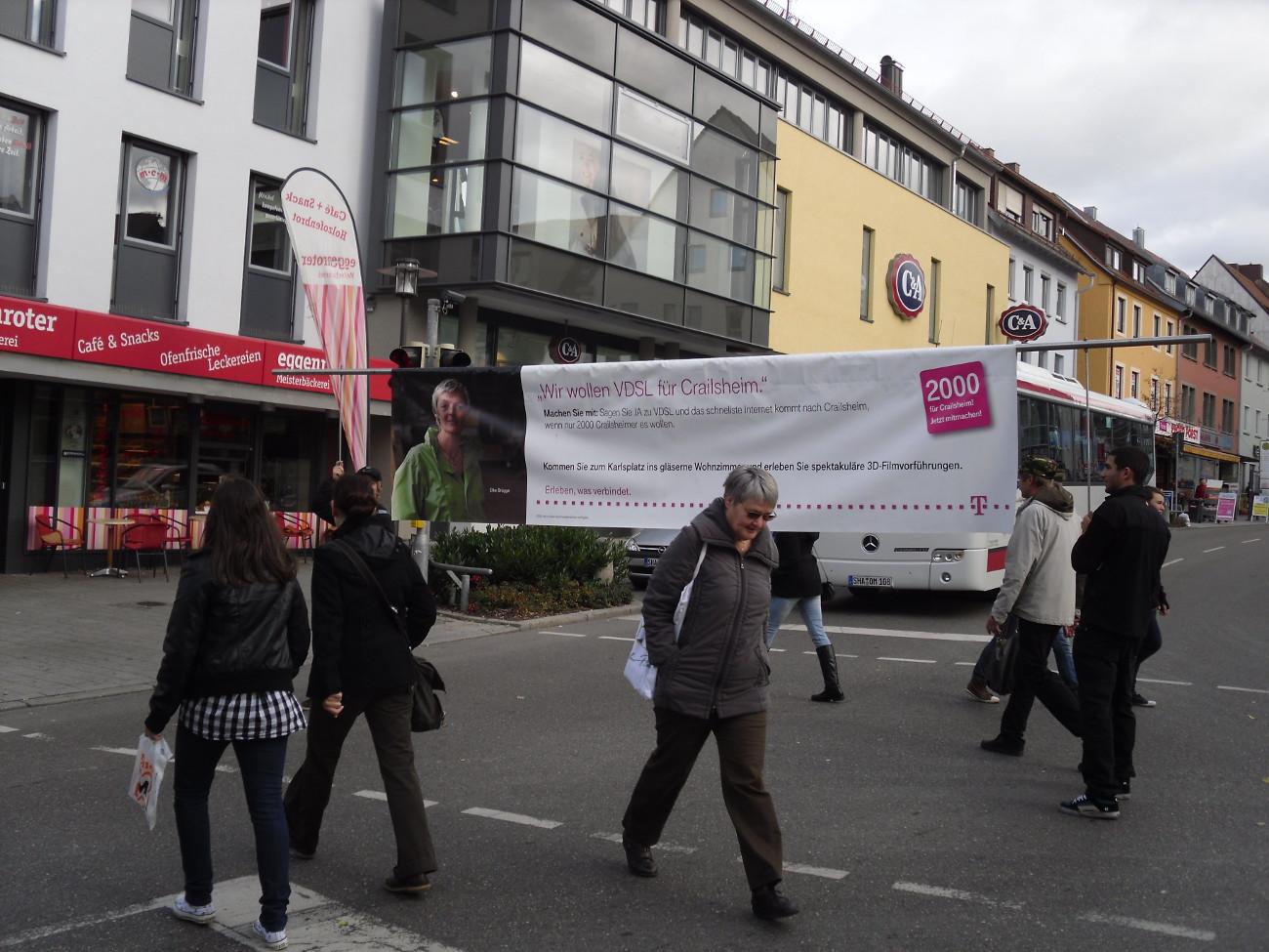 RunningBanner - Telekom