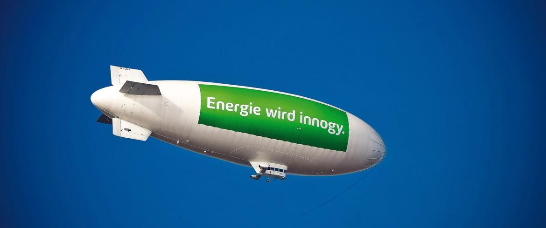 Zeppelin Werbung