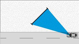 Großflächen Einzelstandort - Skizze zeigt 45° Variante