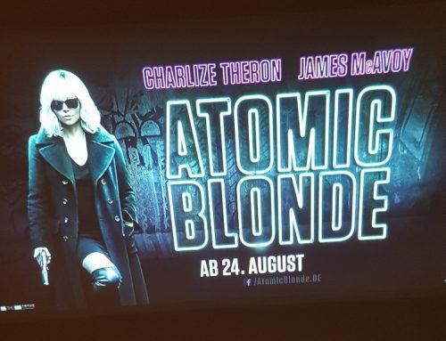 Werbeprojektionen & Promotion – Atomic Blonde