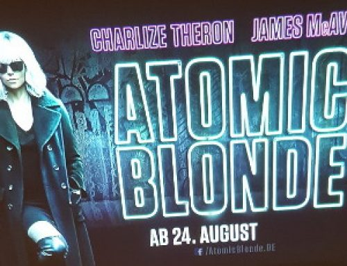 Werbeprojektionen & Promotion – Atomic Blonde