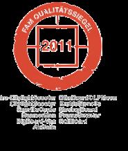 FAM Qualitätssiegel 2011 - inovisco