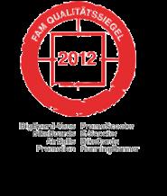 FAM Qualitätssiegel 2012 - inovisco