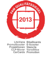 FAM Qualitätssiegel 2013 - inovisco