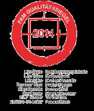 FAM Qualitätssiegel 2014 - inovisco