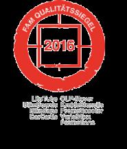 FAM Qualitätssiegel 2016 - inovisco