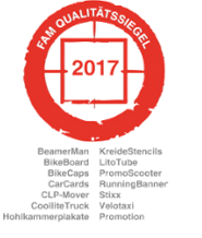 FAM Qualitätssiegel 2017 - inovisco