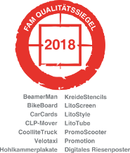 FAM Qualitätssiegel 2018 - inovisco