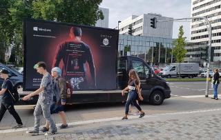 Werbung für Gaming-PC während der Gamescom