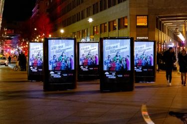 5 CLP-Mover am Potsdamer Platz während der Berlinale