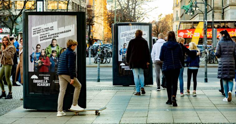 CLP-Mover überraschen Film- und Serienfans während der Berlinale
