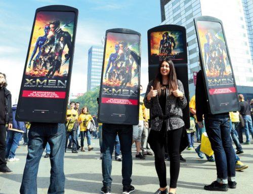 Erfolgreiche Werbekampagnen in Innenstädten und Fußgängerzonen
