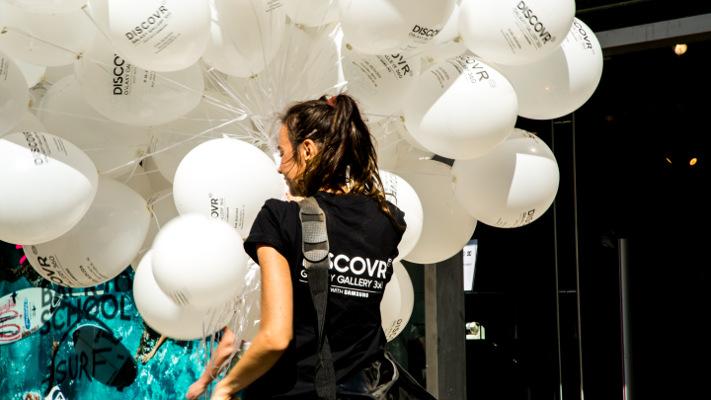Guerilla Marketing Ballons - Discovr