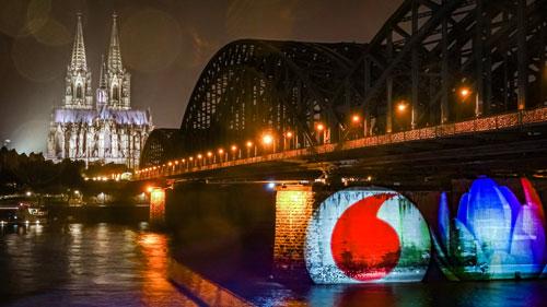 Sonderumsetzung Vodafone Köln