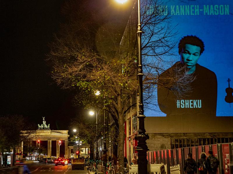 Digitales Riesenposter - Sheku Kanne-Mason