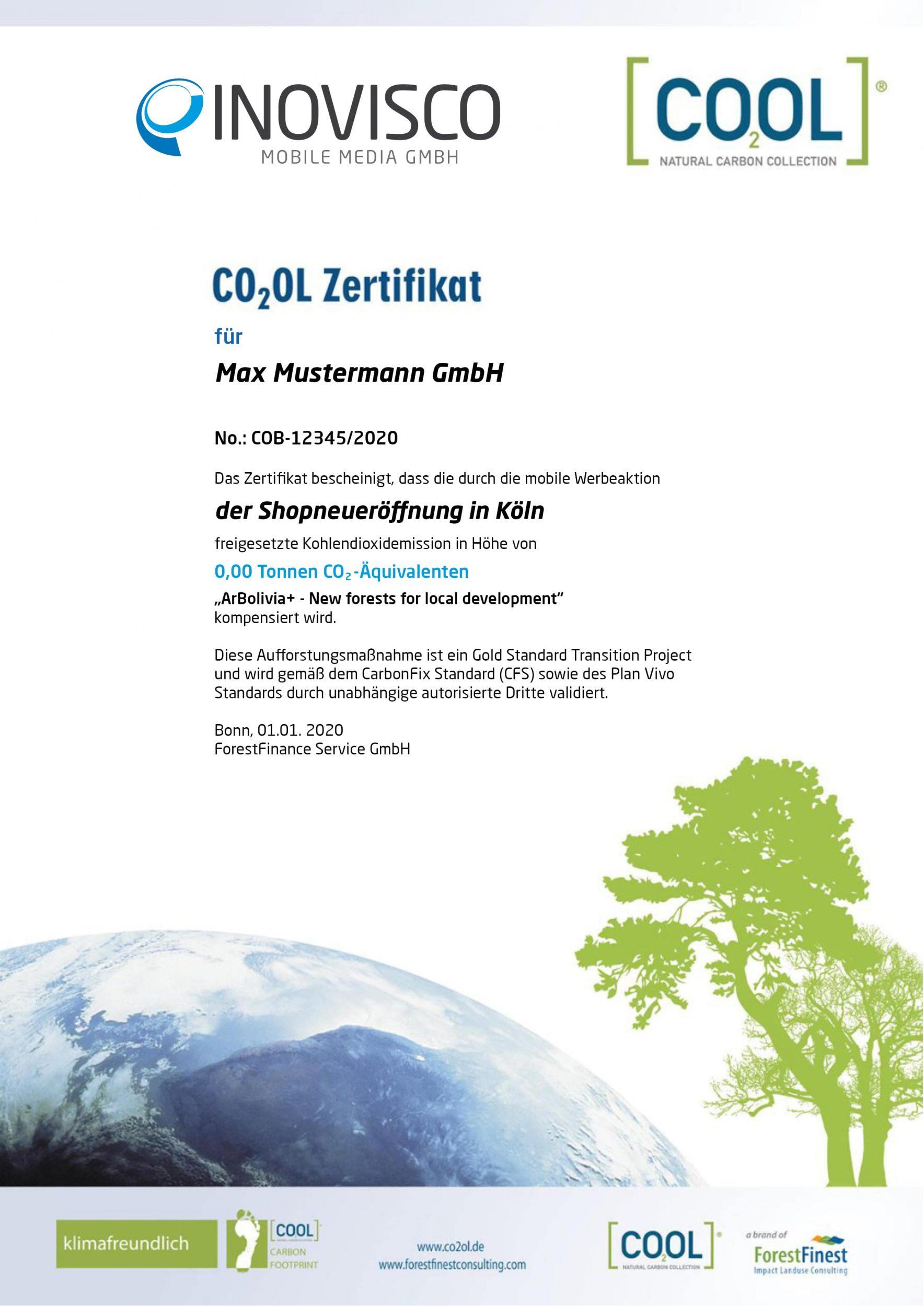 Co2-Zertifikat-2020
