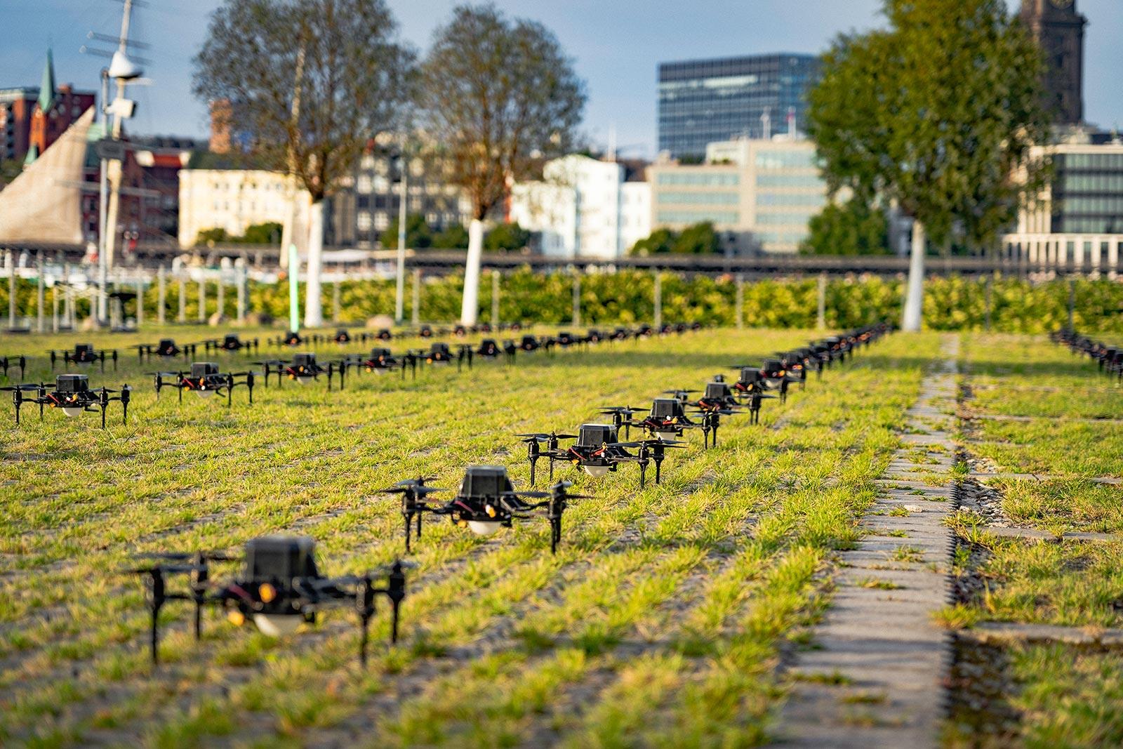 Drohnenshow Hamburg