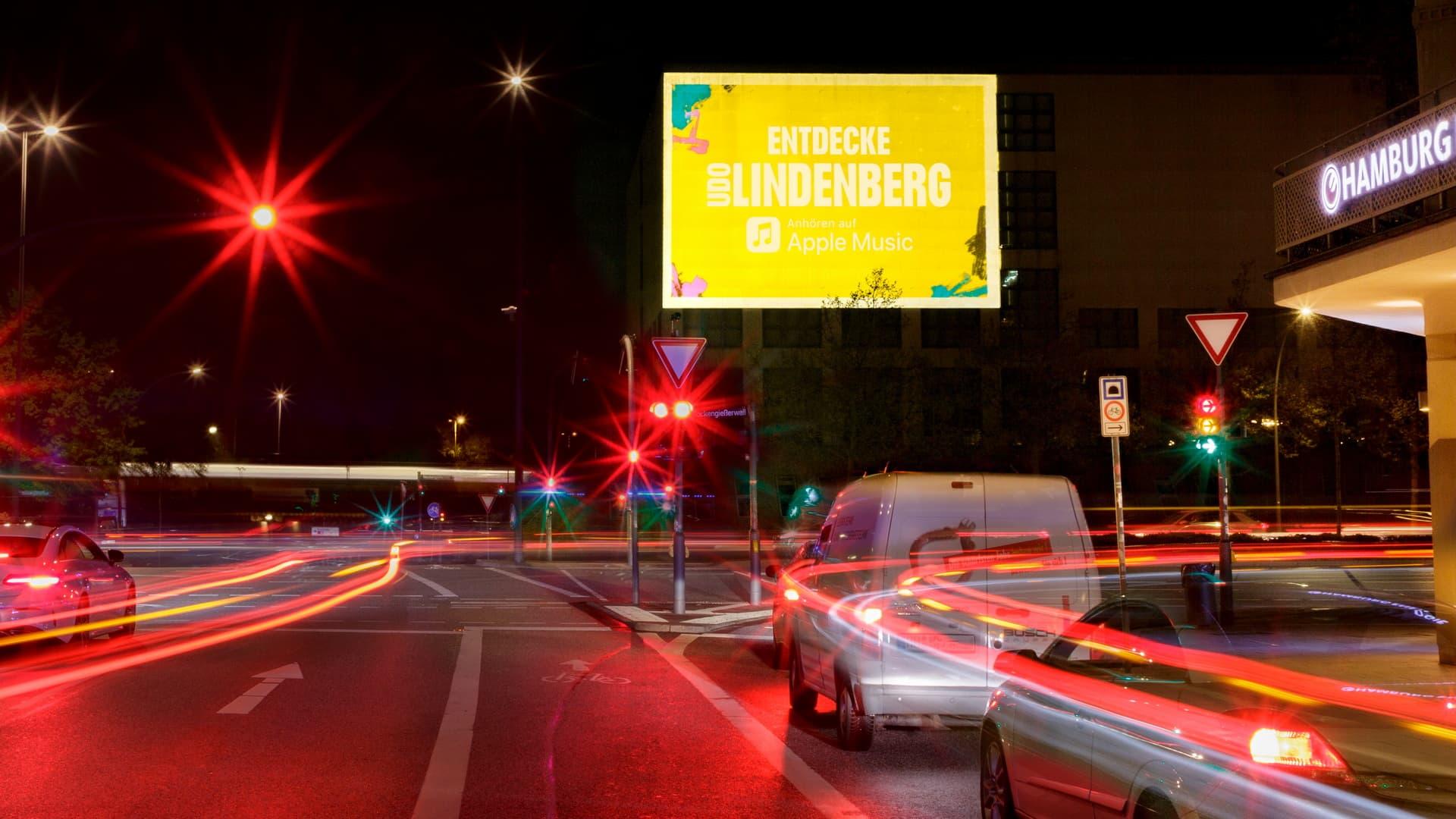 Digitales Riesenposter Udo Lindenberg Hamburg