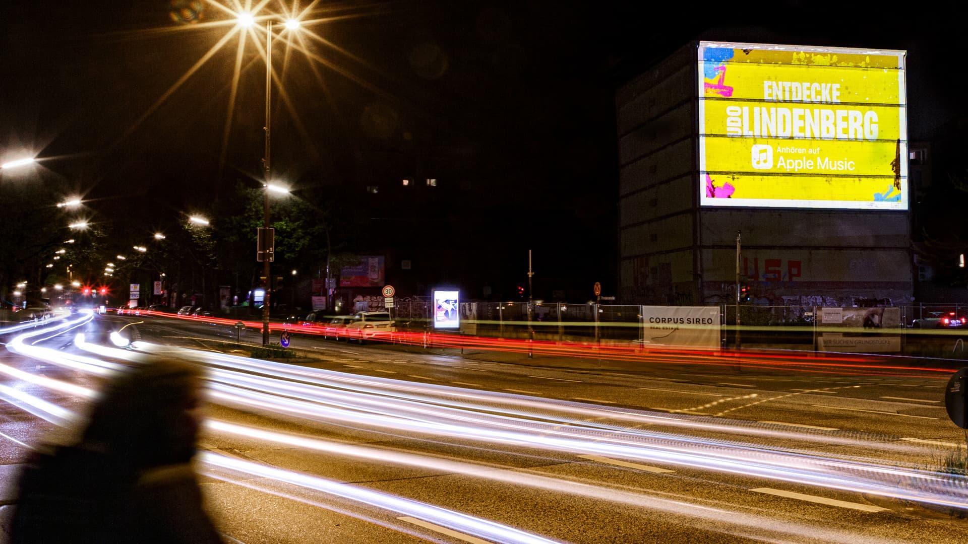 Digitales Riesenposter Udo Lindenberg Hamburg 2