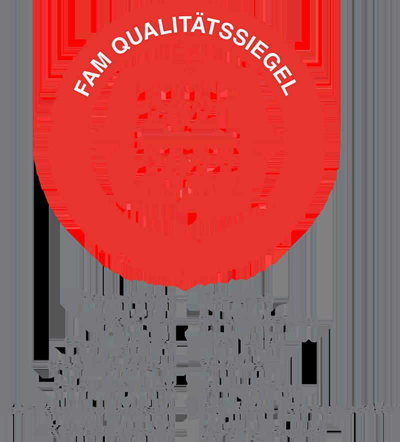 FAM Qualitätssiegel Siegel 2021 für Ambient Werbemedien der Ambient Media Agentur inovisco mobile Media GmbH