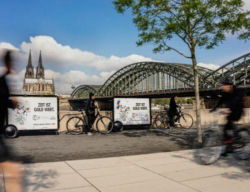 Digitale City-Light-Poster und CoolLitebikes für Red Bull